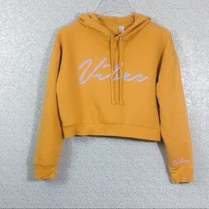 H&M Crop Hoodie Size Small
